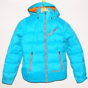 MARMOT 650 Fill Blue Puffer Down Ski Jacket XS